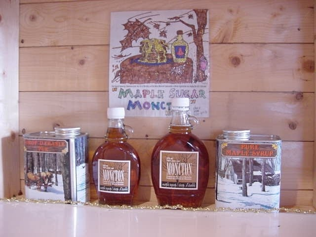 Pure Maple Syrup - a New Brunswick specialty