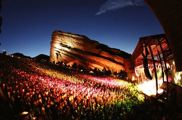 This is the red rock amphitheater in Colorado.  The people that live here say I need to go...I think so too.  It looks so awesome!