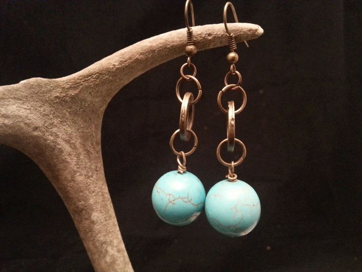 Turquoise Earring by Jewlify on Etsy
