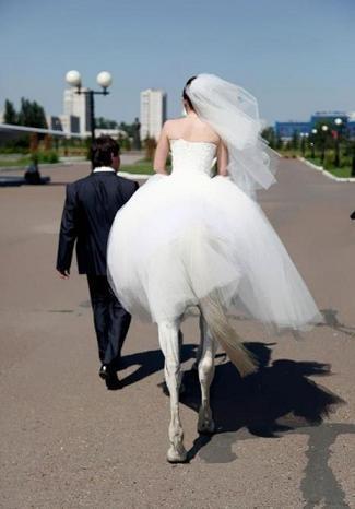 Pazzo Matrimonio...  La carrozza non e' necessaria...