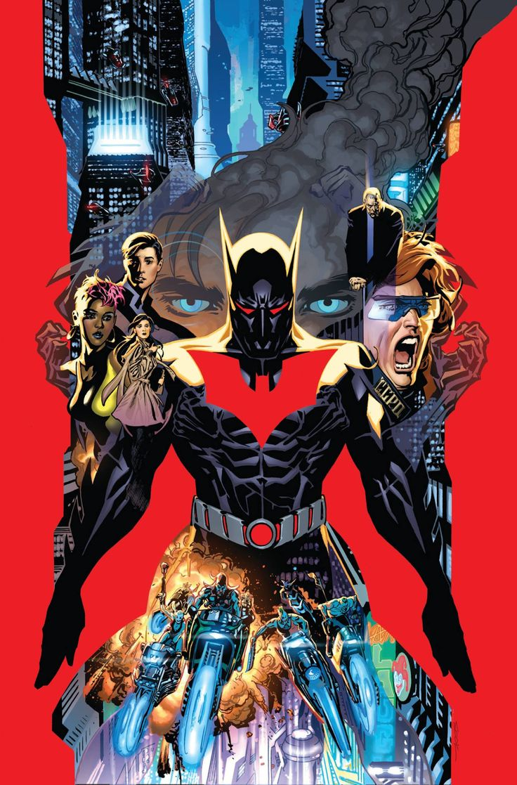 Batman Beyond by Ryan Sook *