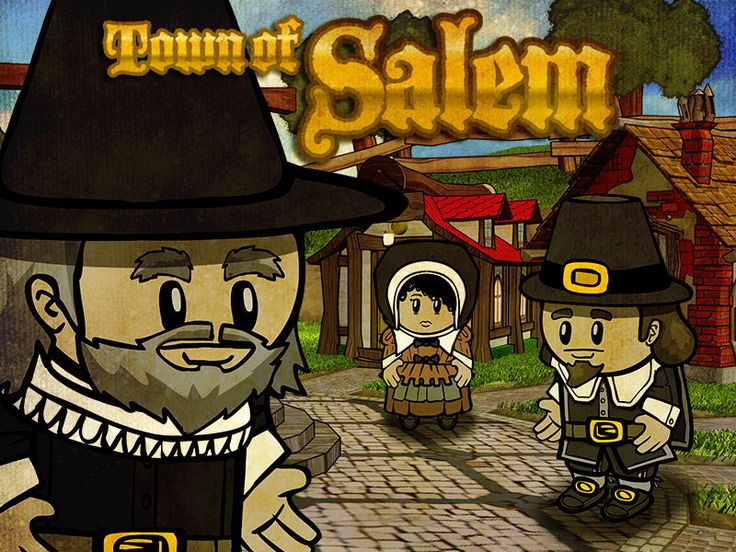 Town of Salem - a game of murder, deception, lying and mob hysteria