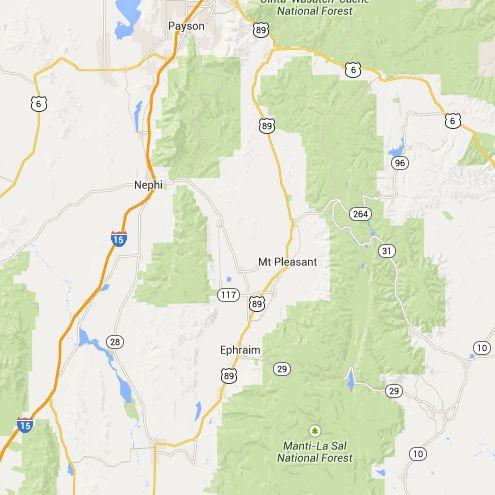 Cottonwood Campground - Nephi, Utah | Free Campsites Near You