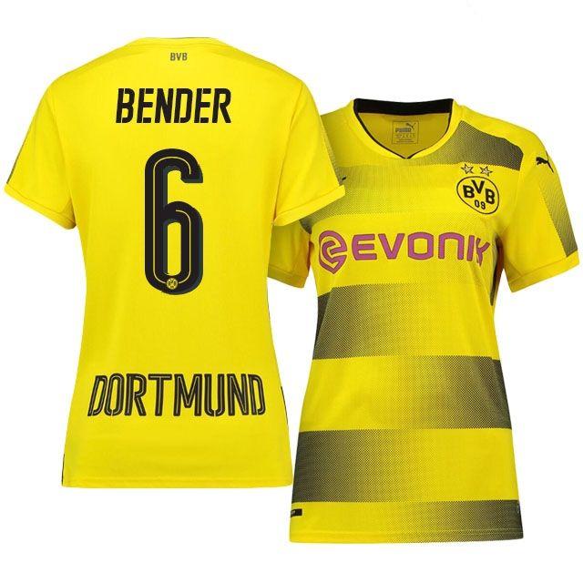 Borussia Dortmund Home Kit 17-18 Women bender