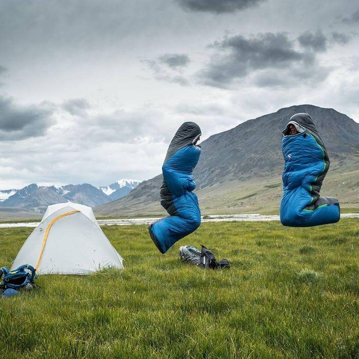 Camping! #camp #sleepingbag
