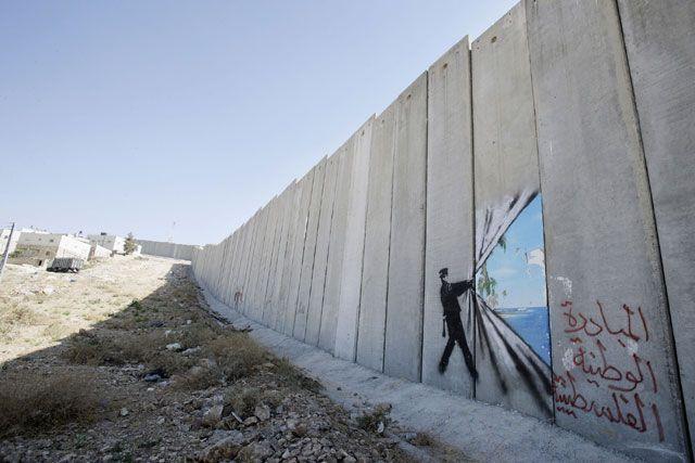 Risultati immagini per banksy israel