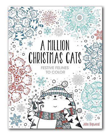 This A Million Christmas Cats Coloring Book Is Perfect Zulilyfinds