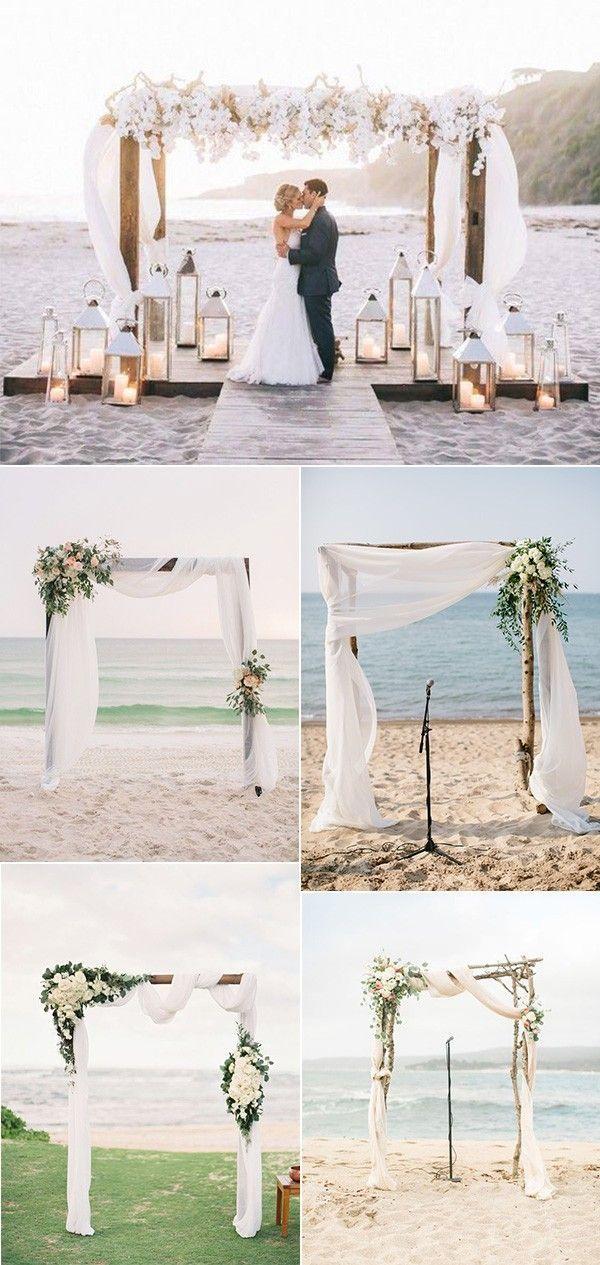 Romantic Beach Wedding Arch Decoration Ideas Beachpicturesofyou