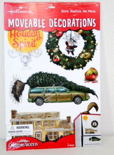 Hallmark National Lampoon Christmas Vacation Decal Sticker Ornament Lot Griswold | eBay