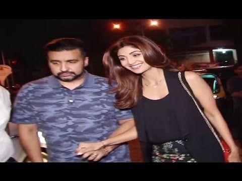 SPOTTED ! Shilpa Shetty on a DINNER DATE with husband Raj Kundra.