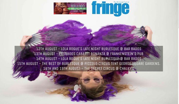 2016_08_12 - 19 - BLONDY VIOLET performs for 6 nights @ EDINBURGH FRINGE FESTIVAL 2016