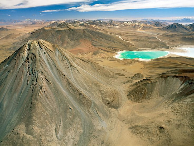 LAGUNA VERDE Natural Wonders: Photos of Surprisingly Colorful Lakes, Mountains, and More - Condé Nast Traveler