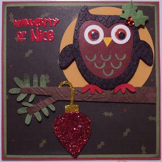 cricut card: Christmas in July