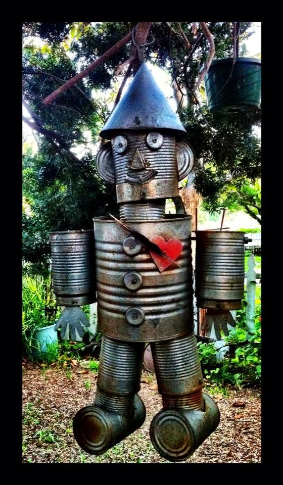 17 best ideas about tin can man on pinterest tin man for Tin man out of cans