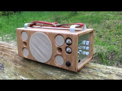 homemade portable bluetooth speaker boombox youtube arduino raspberry pi pinterest. Black Bedroom Furniture Sets. Home Design Ideas