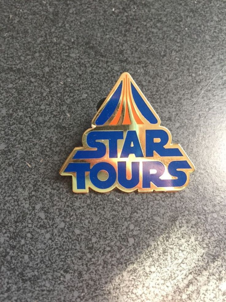 Pin 54599 WDI - Lapel Pin Series - Star Tours Logo