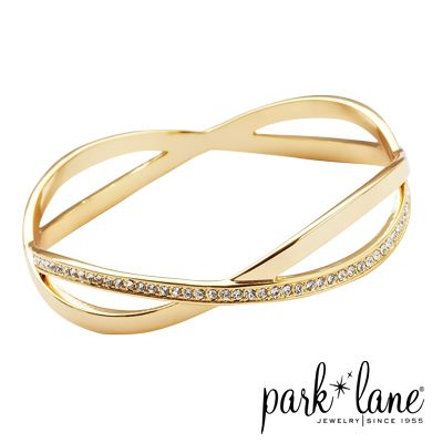 Park Lane Jewelry - Blurred Lines Bracelet. Available in gold and silver.
