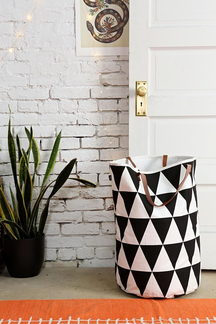 ferm LIVING Triangle Laundry Bag #urbanoutfitters