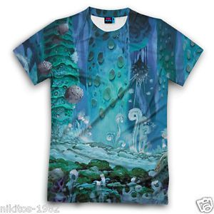 Nausicaa from Valley of Wind reality T-shirt 3D Cool New Russian Sports XS - 5XL