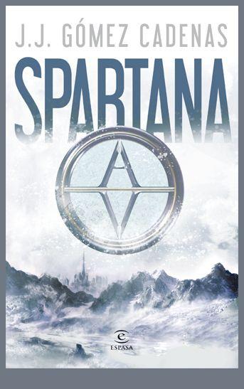 Ilustración y diseño de cubierta que he realizado para la distopia juvenil Spartana editada por Espasa.