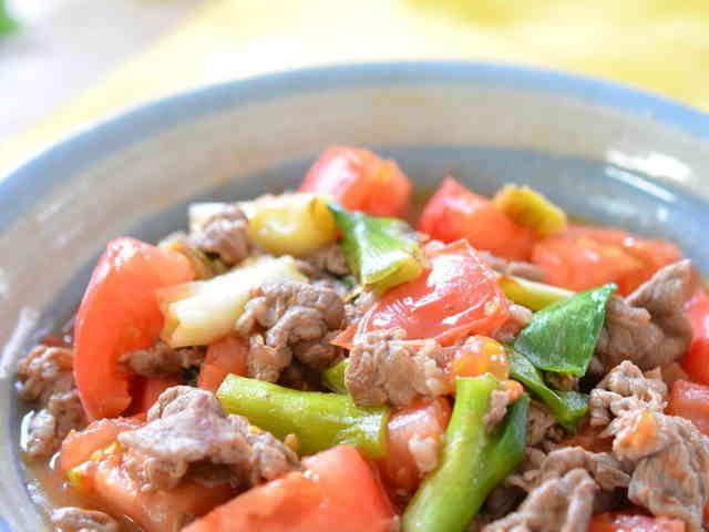 ご飯に合うよ♪簡単☆牛肉のさっぱり炒め☆の画像