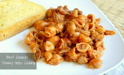 Menu Plan Monday + Beef Goulash   **So easy & just a few ingredients  - Jackie
