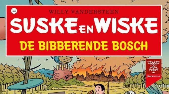 """Het album """"De bibberende Bosch"""" speelt zich af in de late middeleeuwen. De strip ligt op 10 februari in de winkelrekken."""
