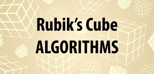 Know how to solve the Rubik's Cube but not the algorithms? Here is a full and detailed list of all the necessary algorithms.