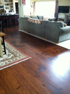 A Beautiful Wide Plank White Pine Floor Home Decor Tips