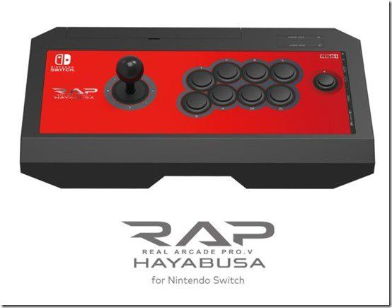 HORI Unveils Its Upcoming Fight Stick For The Nintendo Switch