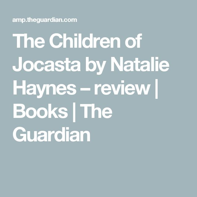 The Children of Jocasta by Natalie Haynes – review | Books | The Guardian