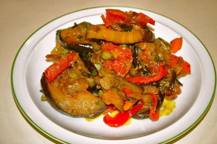 Eggplant Caponata   Recipes - Salads   Pinterest
