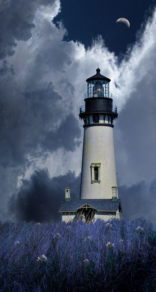 4246 by peter holme iii on 500px.     ♡ My daughter loves lighthouses. This would be perfect as inspiration to create one from clay! ♥A