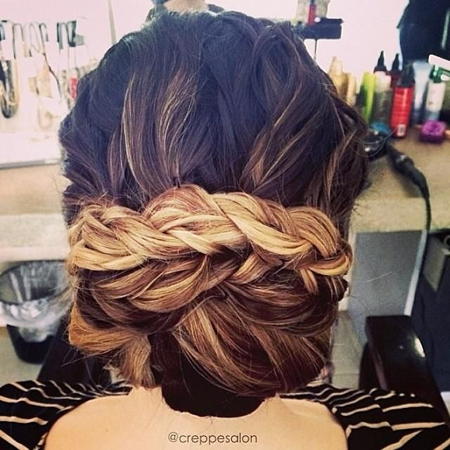 hair styles with bobby pins 201 pingl 233 par camille dupuy sur hair coiffures 2173