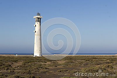 The lighthouse in north Fuerteventura