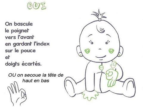 signe avec bébé OUI