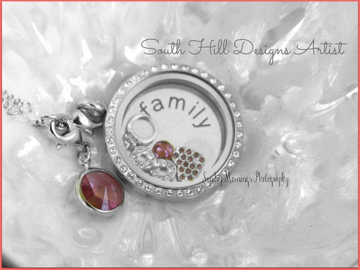 South Hill Designs beautiful locket! Photo by Sunday Mornings! #love #family #southhilldesigns