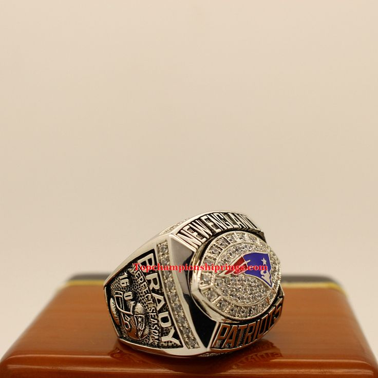 2007 New England Patriots AFC Football Championship Ring