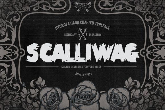 Scalliwag by Hydro74 on @creativemarket