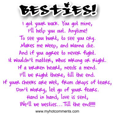 cute poems for your best friend i could cry till the end of time because i am 17204