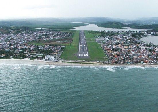 Aeroporto de Ilheus 550x391 Aeroporto Jorge Amado   Ilhéus Bahia