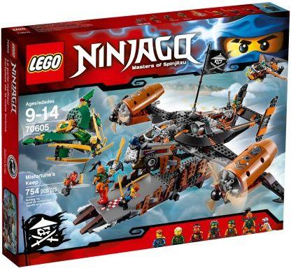 Buy LEGO NINJAGO Misfortune`s Keep NEW 2016for R1,729.00