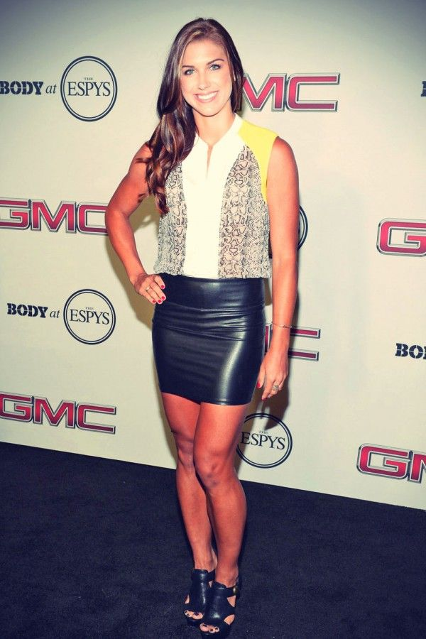Alex Morgan attends ESPN The Magazine 5th Annual Body Issue Party