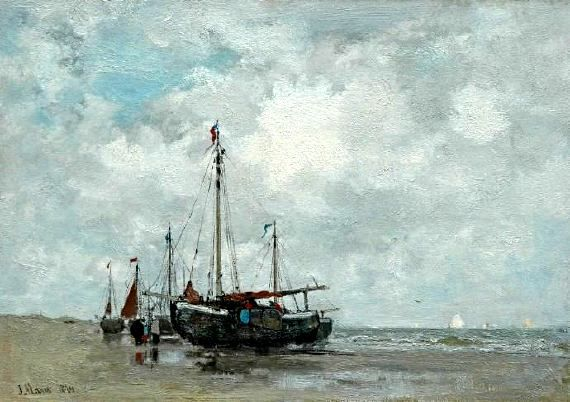 Jacobus Hendricus (Jacob) Maris was een Nederlands impressionistisch kunstschilder van de Haagse School. Jacob was naast kunstschilder ook etser