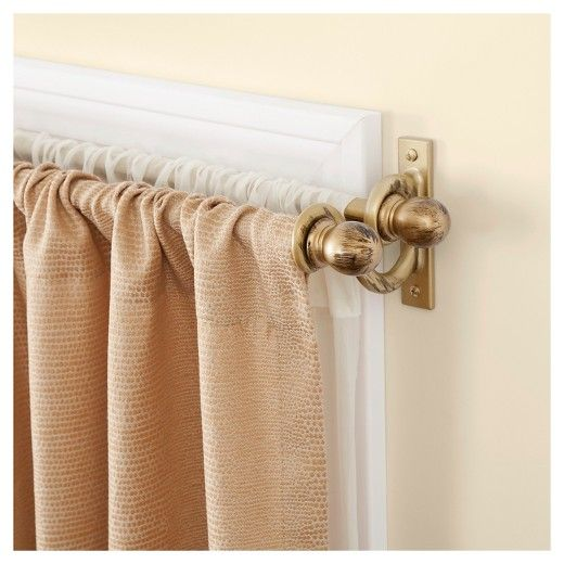 17 Best ideas about Double Curtain Rods on Pinterest | Double ...