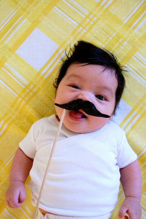 Mustache - haha, fantastic!