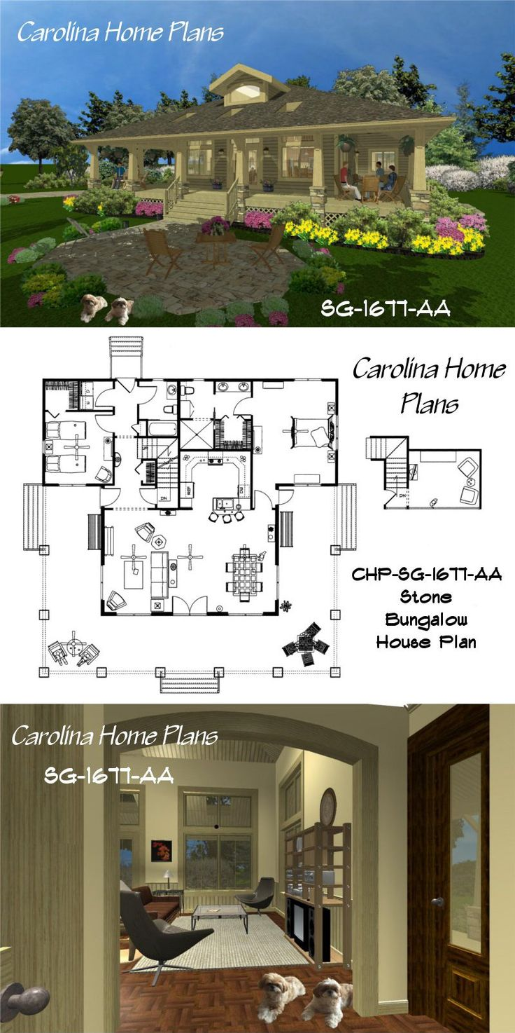 charming and inviting 2 bedrooms 2 bath sophisticated rustic house plan sg 1677 - Rustic House Plans 2