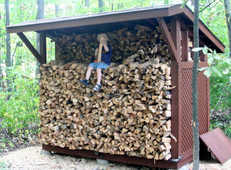 Furniture  Backyard Firewood Rack Log Storage Stand With Roof And Brown  Exterior Color Decor Ideas. 10 best wood storage images on Pinterest   Backyards  Fire wood