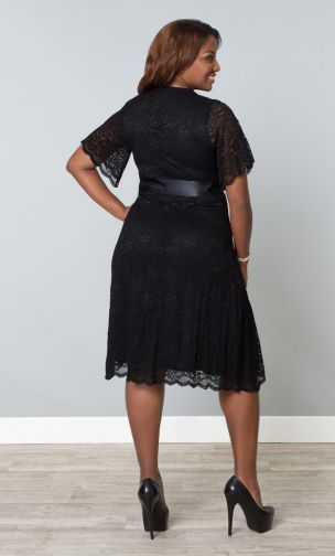 Retro Glam Lace Dress