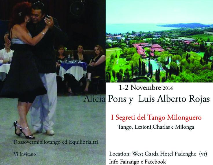 Week Milonguero al West Garda Hotel a Padenghe sul Garda  1 Novembre 2014